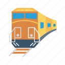 rail, train, transport, travel, vehicle icon