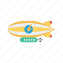 alienship, rocket, spaceship, transport, travel icon