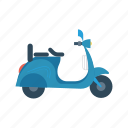 bike, motorcycle, scooter, transport, travel icon