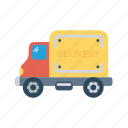 delivery, travel, vehcile, truck, transport icon