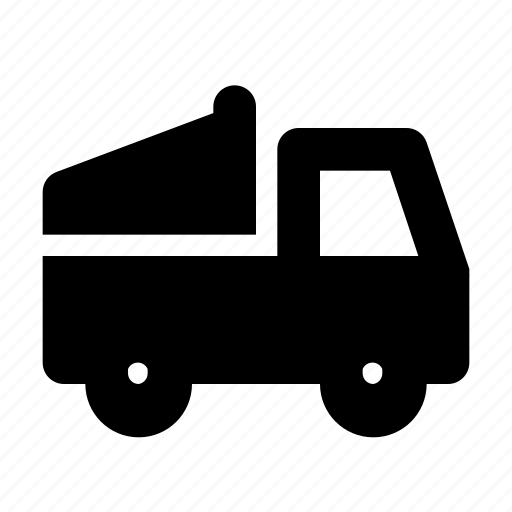 Construction, dump, transport, truck, vehicle icon - Download on Iconfinder