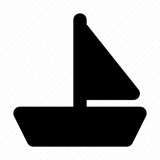 Boat, sailboat, sailing, ship, vessel, yacht icon - Download on Iconfinder