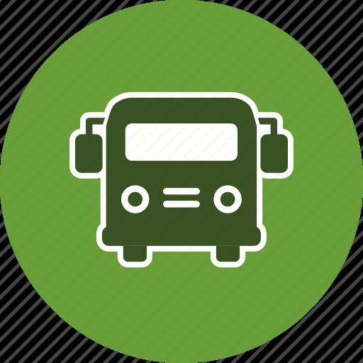 bus, school bus, vehicle icon