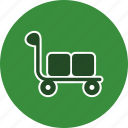 basket, retail, shop, shopping, store, supermarket, trolley icon