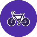 bicycle, biking, cycle, paddal, race, road, wheel icon