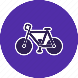 bicycle, cycle, cycling, travel icon