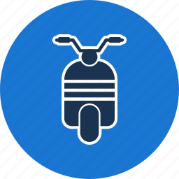 bike, motor, scooter, vespa icon