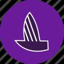 boat, boating, sail, sailboat, ship, yacht, yachting icon