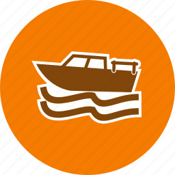 boat, boating, fishing, ship icon