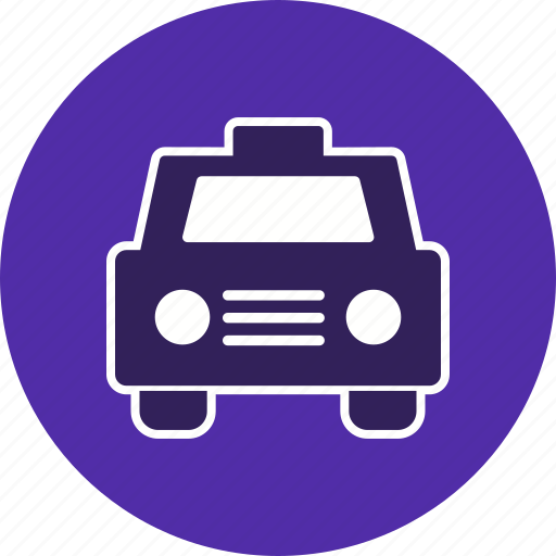 cab, taxi, vehicle icon