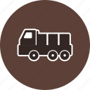 cargo, construction, dump, heavy, machine, machinery, truck icon