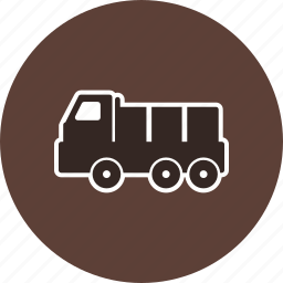 construction, dumper, truck icon