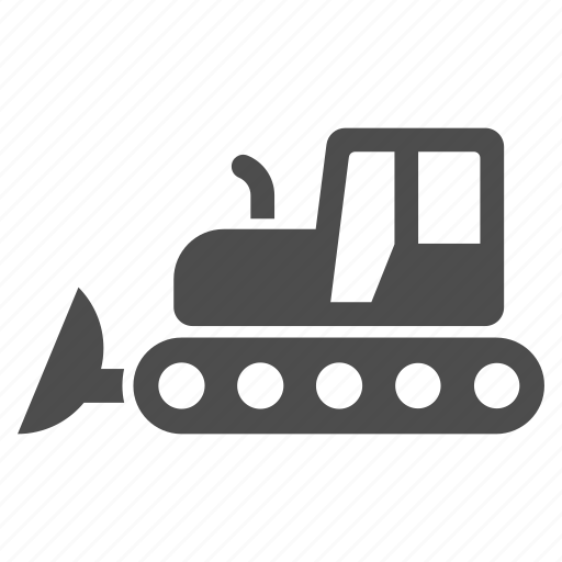 Bulldozer, building, equipment, industrial, industry, machine, machinery icon - Download on Iconfinder