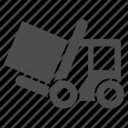 fork lift truck, forklift, loader, logistic, transport, transportation, vehicle icon