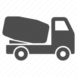 car, cement transportation, delivery, shipment, transport, unit, vehicle icon
