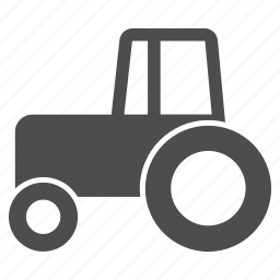 agriculture, equipment, machine, tractor wheeled, transportation, vehicle, wheel icon