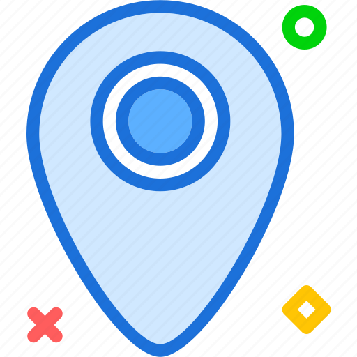 location, map, mark, pin, point icon