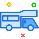 car, trailer, transport, travel, vehicle icon