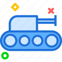 army, artilery, heavy, tank, war, weapon icon