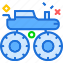 heavy, monster, transportation, truck icon