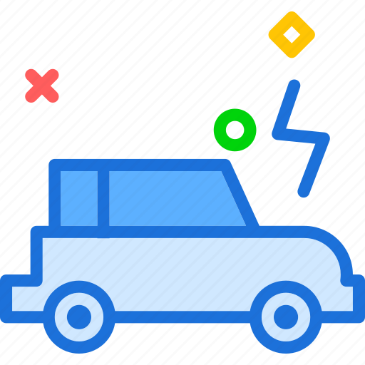 car, electrica, transport, travel, vehicle icon