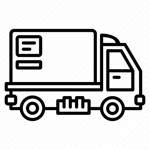 Truck, transportation, delivery, vehicle, car, transport, automobile icon - Download on Iconfinder