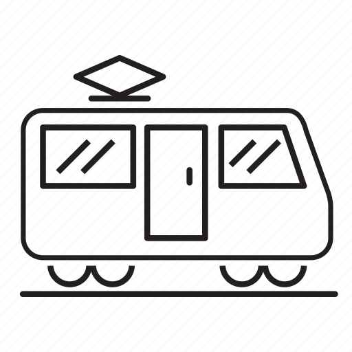 public transit, ride, subway, tram, tram car, transportation icon