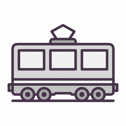 passenger, railway, railway carriage, train icon