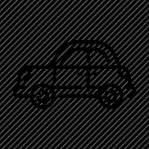 automobile, car, classic, drive, speed, vehicle, wheel icon