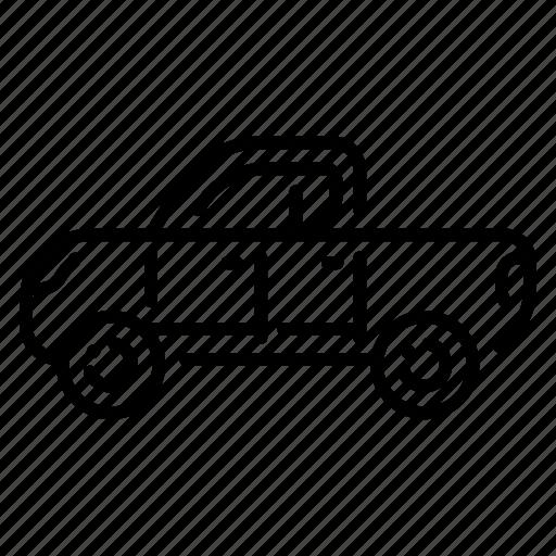 automobile, drive, pickupcar, speed, trucking, vehicle, wheel icon