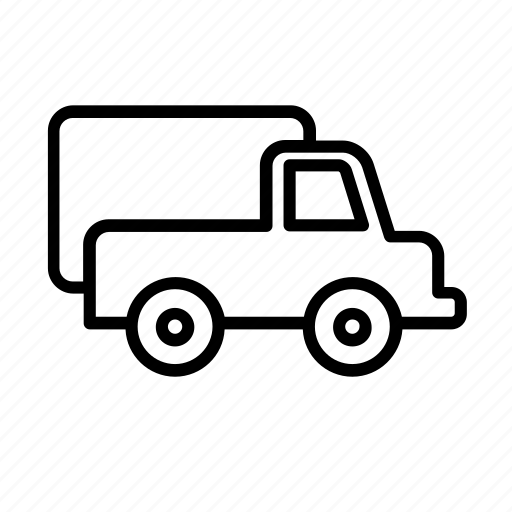 auto, automobile, transport, transportation, truck, van, vehicle icon
