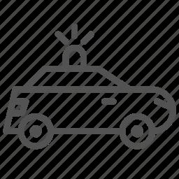 car, police, service, vehicle icon