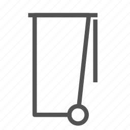 can, container, garbage icon