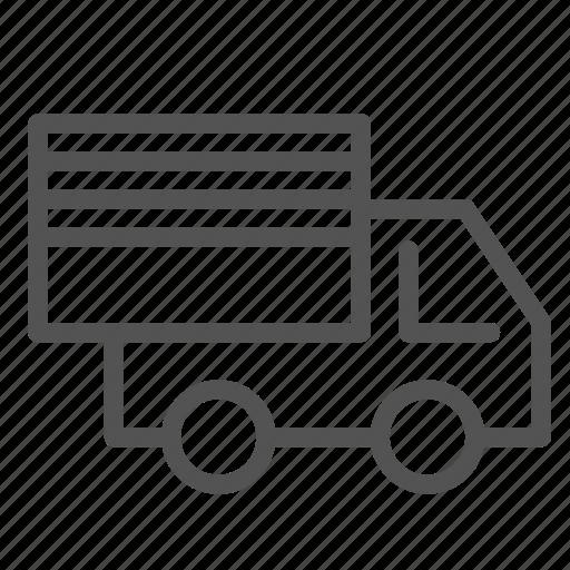 cargo, delivery, trailer, truck icon