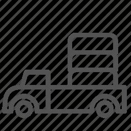 car, cargo, transport, truck, vehicle icon