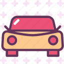 car, frontview, transport, travel, vehicle