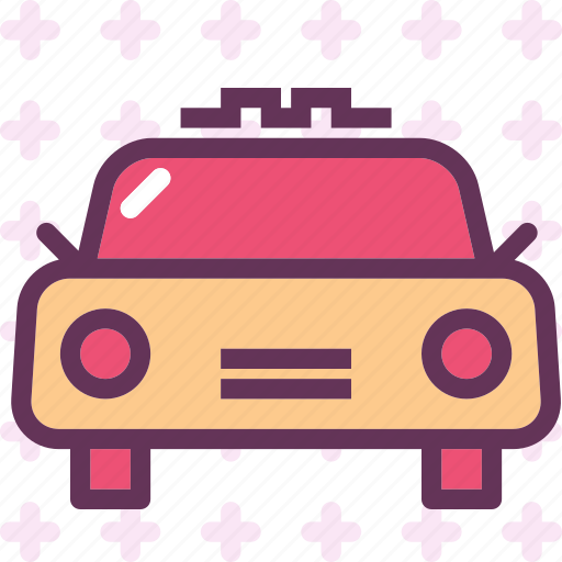 car, taxi, transport, travel, vehicle icon