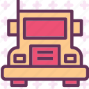 heavy, transportation, truck icon