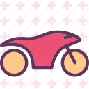 fast, motocycle, speed, travel icon