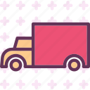 materials, move, tir, transport icon