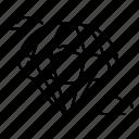 parachute, transport, transportation icon