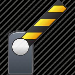 barrier, border, door, entrance, exit, open, way icon