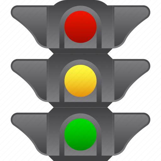 intersection, regulate, road signs, semaphore, stop signal, traffic lights, transportation control icon