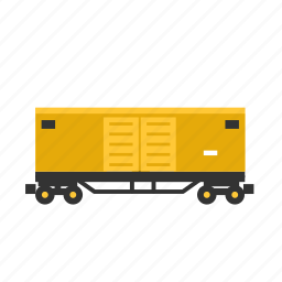 boxcar, goods, railways, train, transport, wagon icon