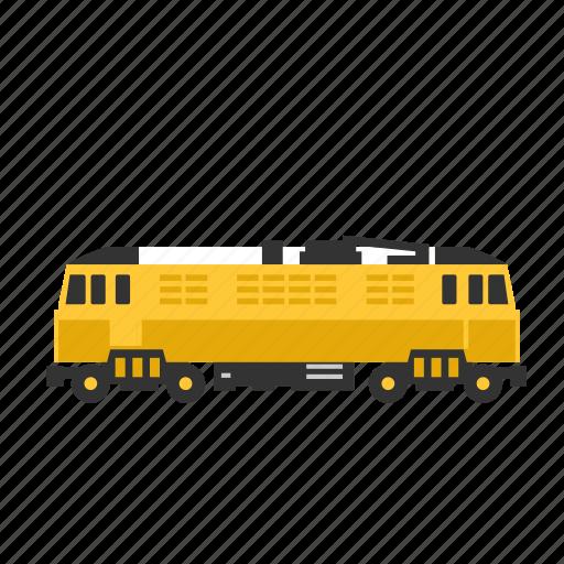 electric, locomotive, power, train, transport icon