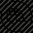auto, automation, car, transport, transportation, vehicle, caravan icon