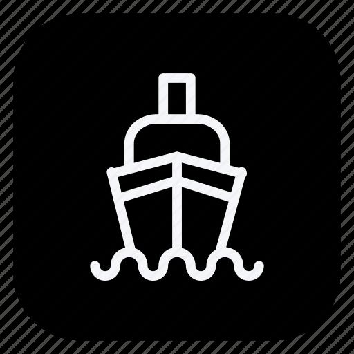 automation, boat, car, ship, transport, transportation, vehicle icon