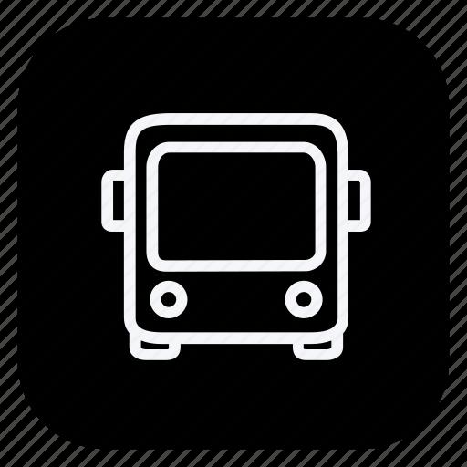 bus, car, transport, transportation, truck, van, vehicle icon