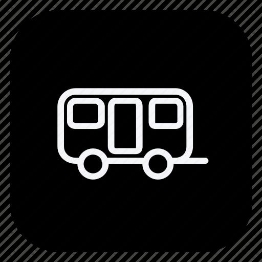 auto, automation, car, caravan, transport, transportation, vehicle icon