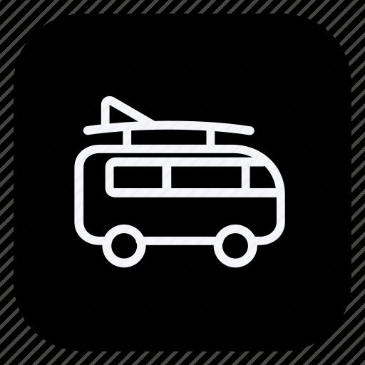 bus, car, transportation, trollybus, truck, van, vehicle icon